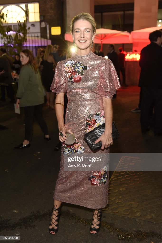 Melinda Stevens attends the Conde Nast Traveller 20th anniversary party at Vogue House on October 9, 2017 in London, England.