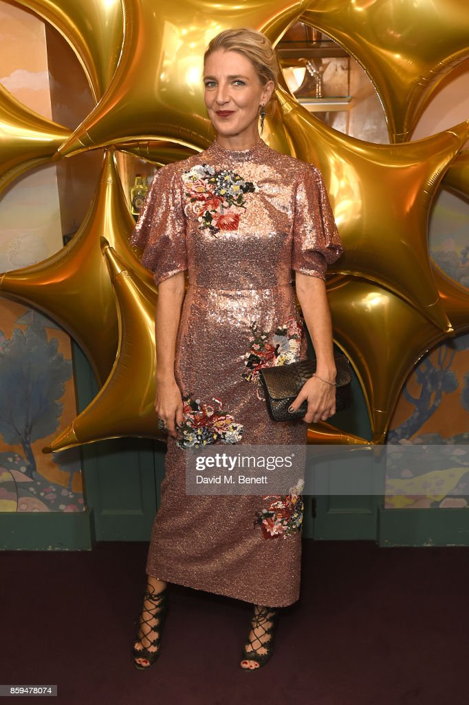 Melinda Stevens attends the Conde Nast Traveller 20th anniversary after party at Annabel's on October 9, 2017 in London, England.
