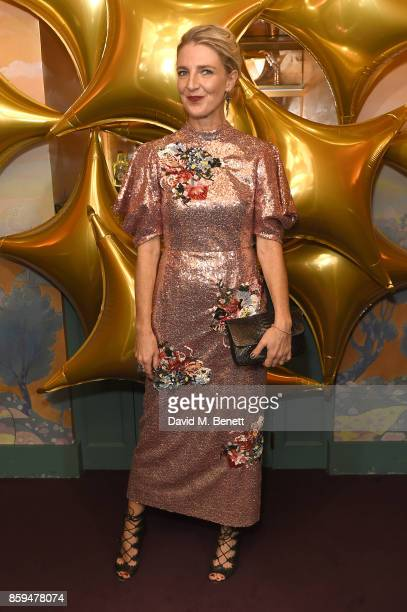 Melinda Stevens attends the Conde Nast Traveller 20th anniversary after party at Annabel's on October 9 2017 in London England
