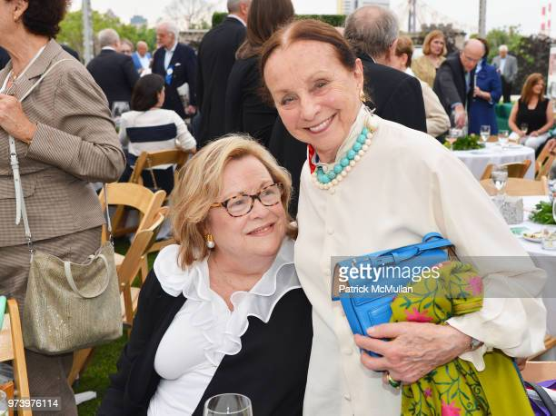 Melinda vanden Heuvel and Judith Schlosser attend the Franklin D Roosevelt Four Freedoms Park's gala honoring Founder Ambassador William J Vanden...