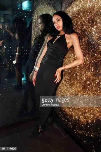 Melisa Mitchell attends the Lexy Panterra PreGrammy Party at W Hotel Times Square on January 27 2018 in New York City