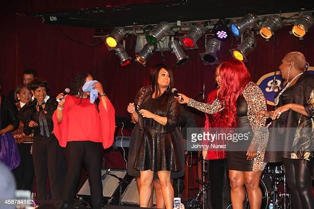 Meli'sa Morgan Cece Peniston Meli'sa Morgan and Alyson Williams perform at BB King Blues Club Grill on November 10 2014 in New York City