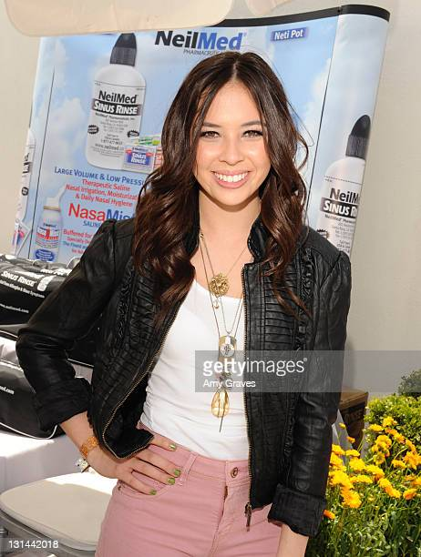 Melise Jow attends Melanie Segal's Red Cross Prepare LA Trend Lounge In Celebration Of The MTV Movie Awards Day 1 at Luxe Hotel on June 3 2011 in Los...