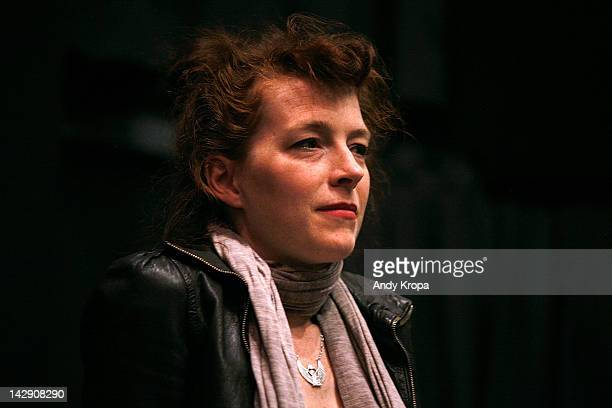 Melissa Auf der Maur attends the Hit So Hard Documentary Q A With Members Of The Band Hole at Cinema Village Cinema on April 14 2012 in New York City