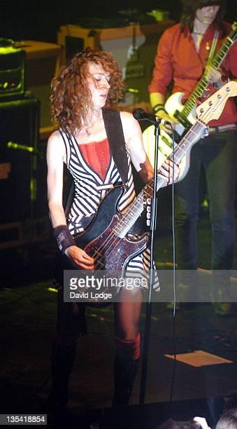 Melissa Auf Der Maur during Melissa Auf Der Maur In Concert August 31 2004 at The Astoria in London Great Britain