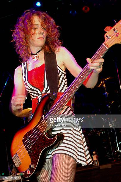 Melissa Auf der Maur performing at Irving Plaza on Monday night September 27 2004