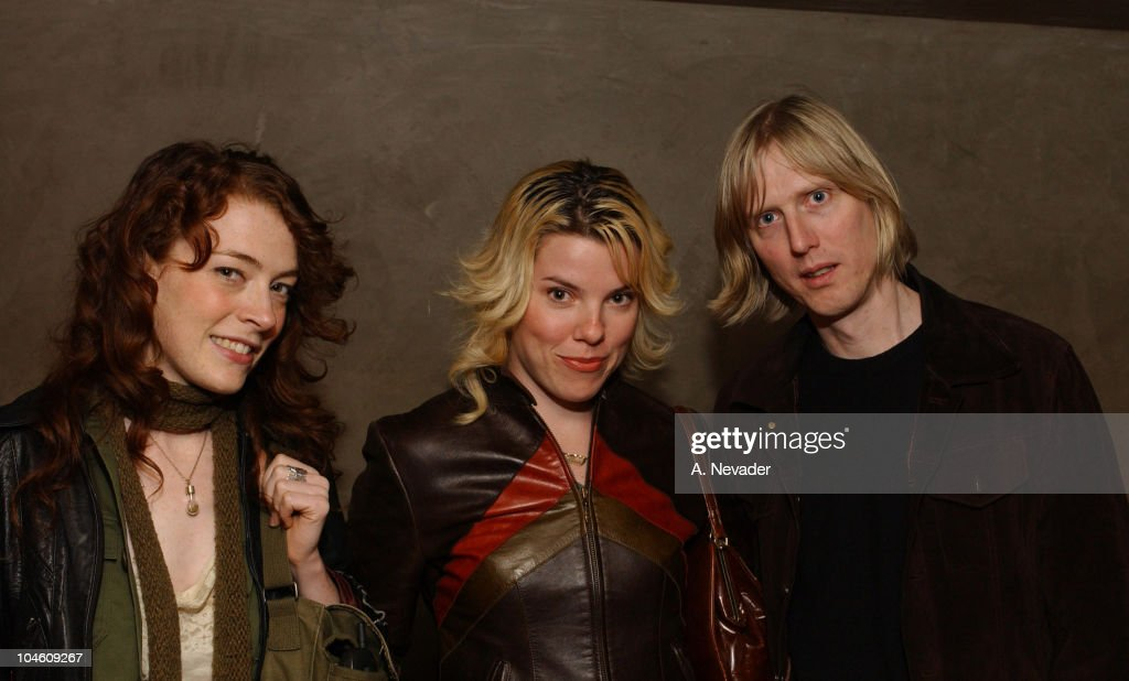 Melissa Auf Der Maur, Samantha Maloney, and Eric Erlandson