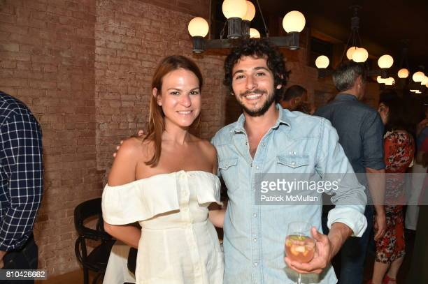 Melissa Baer and Jesse Warren attend eBay Hosts July 4th Benefit for Sag Harbor Cinema Restoration Project at Lulu Kitchen and Bar on July 3 2017 in...