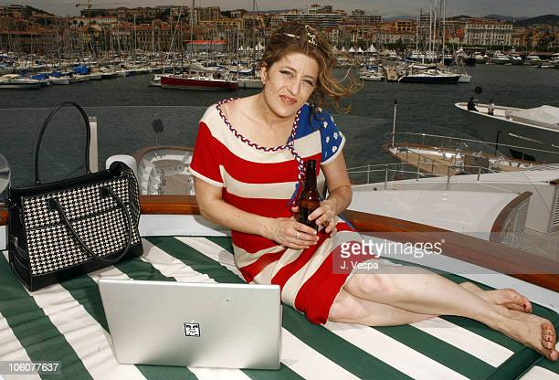 Melissa Balin during 2006 Cannes Film Festival Amanda Swiston and Melissa Balin Portraits at AB Yacht in Cannes France