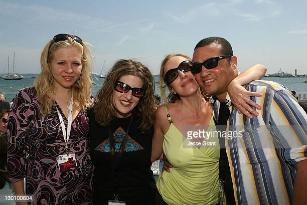 Melissa Balin Elana Krausz and guests during 2006 Cannes Film Festival American Pavillion Day 5 at American Pavillion in Cannes France
