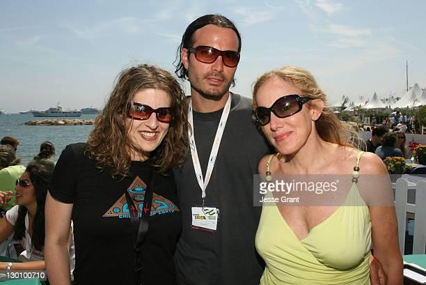 Melissa Balin Marcus Dean Pirae and Elana Krausz during 2006 Cannes Film Festival American Pavillion Day 5 at American Pavillion in Cannes France