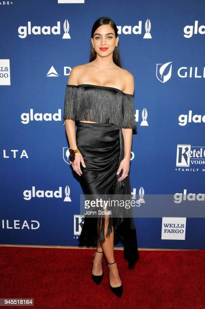 Melissa Barrera celebrates achievements in LGBTQ community at the 29th Annual GLAAD Media Awards Los Angeles in partnership with LGBTQ ally Ketel One...
