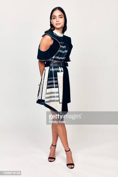 Melissa Barrera of STARZ's 'Vida' poses for a portrait during the 2018 Summer Television Critics Association Press Tour at The Beverly Hilton Hotel...
