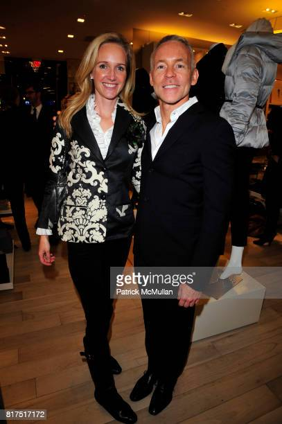 Melissa Barrett Rhodes and Russell Groves attend Ann Taylor Flatiron Store Opening at Ann Taylor NYC on December 2 2010 in New York City