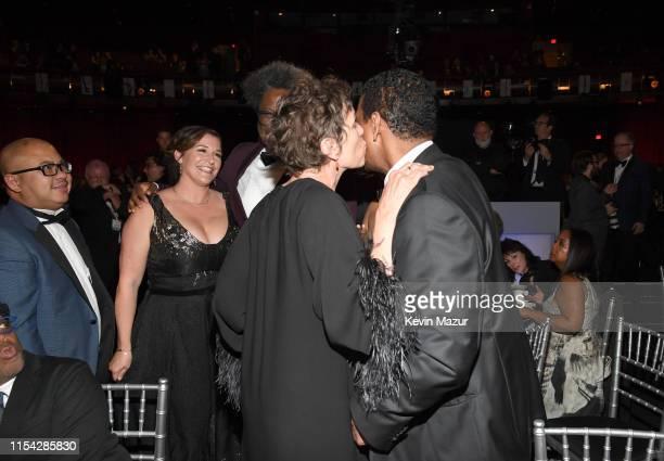 Melissa Bell Frances McDormand W Kamau Bell and honoree Denzel Washington attend the 47th AFI Life Achievement Award honoring Denzel Washington at...