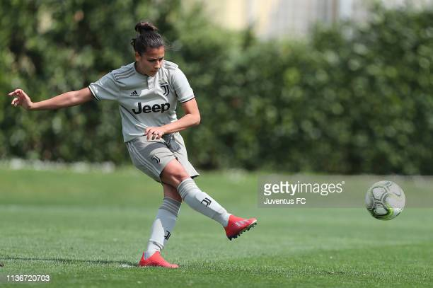 Melissa Bellucci of Juventus Women U19 misses a penalty during the Serie A Primavera Final Four match between Juventus U19 Women and FC...