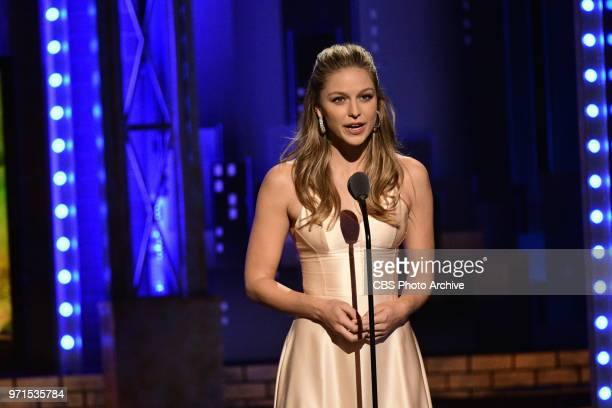 Melissa Benoist at THE 72nd ANNUAL TONY AWARDS broadcast live from Radio City Music Hall in New York City on Sunday, June 10, 2018 on the CBS...
