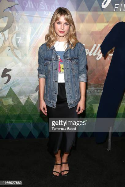 Melissa Benoist attends the 15th Annual Oscar Qualifying HollyShorts Film Festival Opening Night Gala at TCL Chinese 6 Theatres on August 08 2019 in...