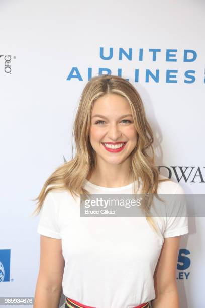 Melissa Benoist attends the 2018 Stars In The Alley celebrating the end of the Broadway 20172018 season on June 1 2018 in New York City