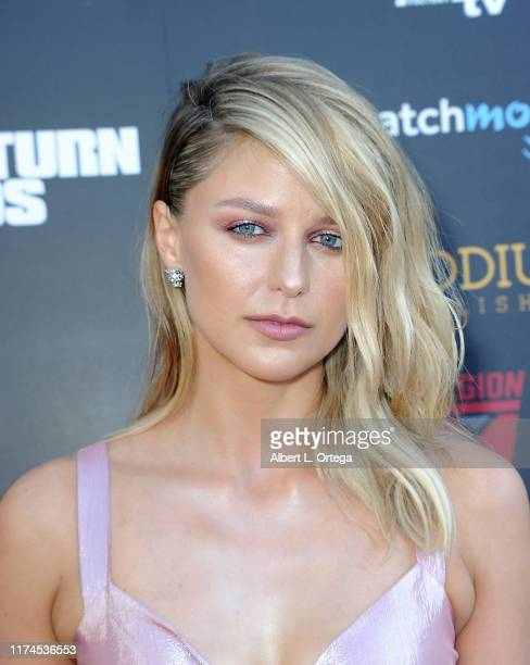 Melissa Benoist attends the 45th Annual Saturn Awards at Avalon Theater on September 13 2019 in Los Angeles California