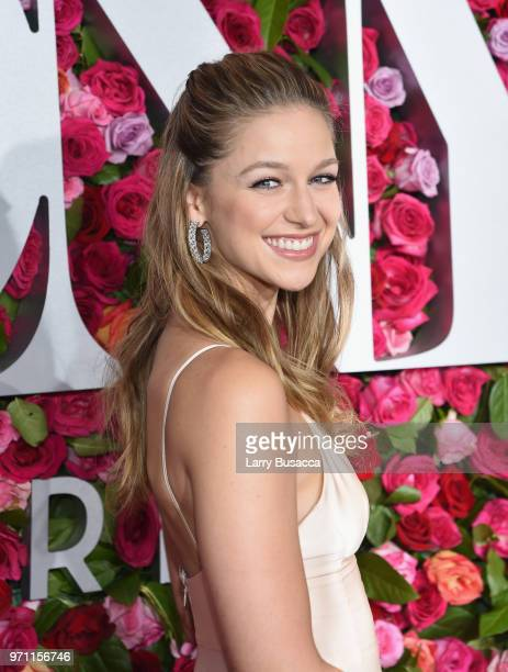 Melissa Benoist attends the 72nd Annual Tony Awards at Radio City Music Hall on June 10 2018 in New York City