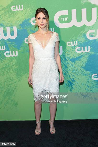 Melissa Benoist attends The CW Network's 2016 New York Upfront at The London Hotel on May 19 2016 in New York City
