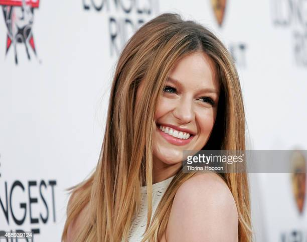 Melissa Benoist attends the Premiere of Twentieth Century Fox's 'The Longest Ride' at TCL Chinese Theatre IMAX on April 6 2015 in Hollywood California