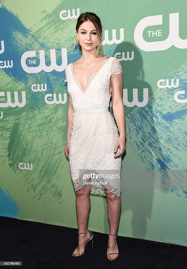 Melissa Benoist of the series 'Supergirl' attends The CW Network's 2016 New York Upfront at The London Hotel on May 19, 2016 in New York City.