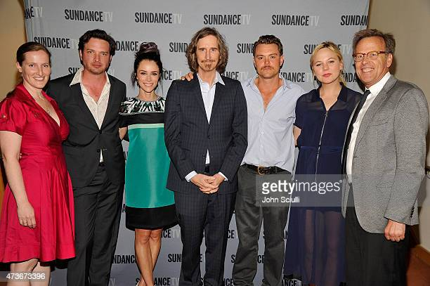 Melissa Bernstein Executive Producer of 'Rectify' Actor Aden Young Actress Abigail Spencer Marsha Persinger Ray McKinnon Creator/Writer/Executive...