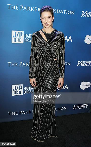 Melissa Bolona arrives at the 5th Annual Sean Penn Friends 'HELP HAITI HOME' gala benefiting J/P Haitian Relief Organization held at Montage Hotel on...