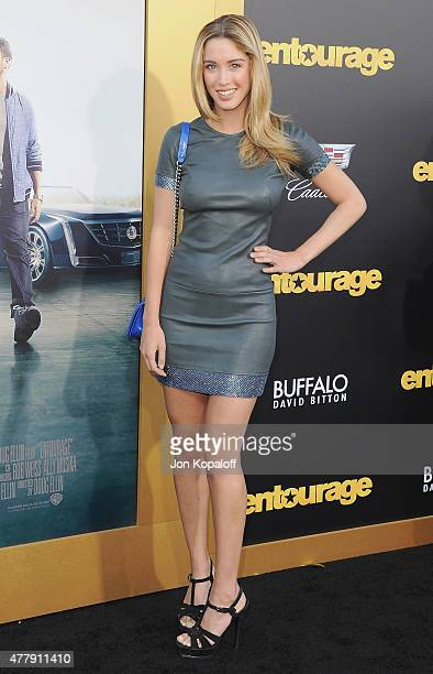 "Melissa Bolona arrives at the Los Angeles Premiere ""Entourage"" at Regency Village Theatre on June 1, 2015 in Westwood, California."
