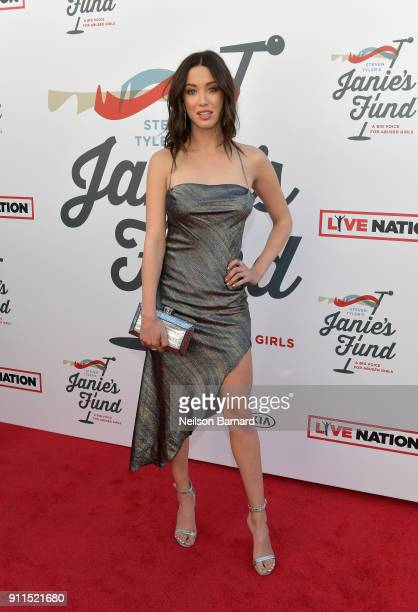 Melissa Bolona at Steven Tyler and Live Nation presents Inaugural Janie's Fund Gala & GRAMMY Viewing Party at Red Studios on January 28, 2018 in Los...