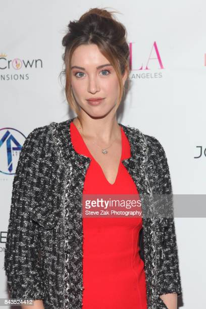 Melissa Bolona attends Bella Magazine NYFW Kickoff Party at The Attic Rooftop Lounge on September 6 2017 in New York City