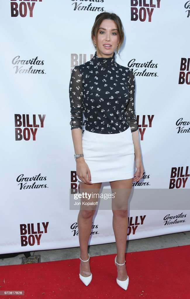 Melissa Bolona attends 'Billy Boy' Los Angeles Premiere at Laemmle Music Hall on June 12, 2018 in Beverly Hills, California.