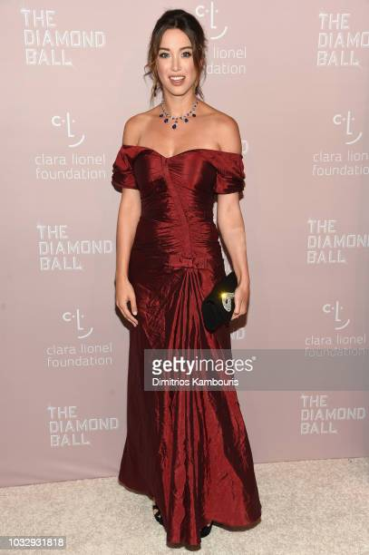 Melissa Bolona attends Rihanna's 4th Annual Diamond Ball benefitting The Clara Lionel Foundation at Cipriani Wall Street on September 13, 2018 in New...