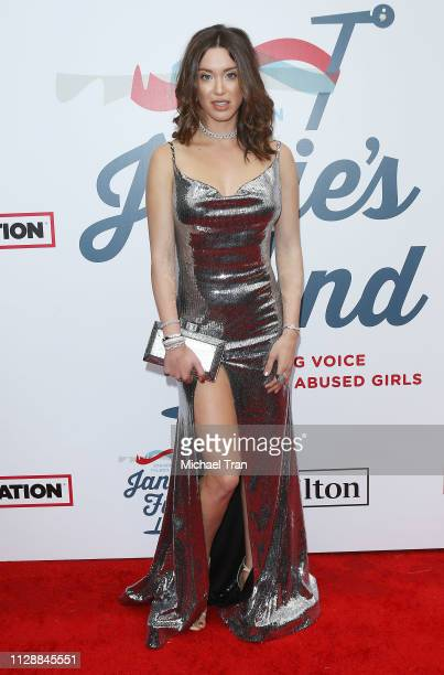Melissa Bolona attends Steven Tyler'sGRAMMY Awards viewing party benefiting Janie's Fund held at Raleigh Studios on February 10 2019 in Los Angeles...