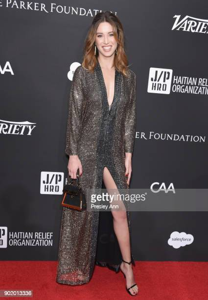 Melissa Bolona attends the 7th Annual Sean Penn & Friends HAITI RISING Gala benefiting J/P Haitian Relief Organization on January 6, 2018 in...