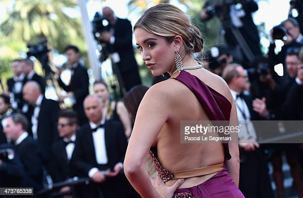 "Melissa Bolona attends the ""Rocco And His Brothers"" Premiere during the 68th annual Cannes Film Festival on May 17, 2015 in Cannes, France."