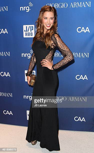 Melissa Bolona attends the Sean Penn 3rd Annual Help Haiti Home Gala Benefiting J/P HRO Presented By Giorgio Armani at Montage Beverly Hills on...