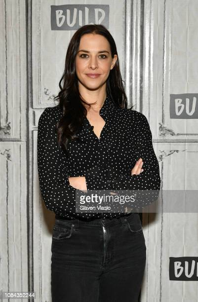 Melissa Brasier visits Build Brunch to disscuss Bravo's brand new show Backyard Envy at Build Studio on January 17 2019 in New York City