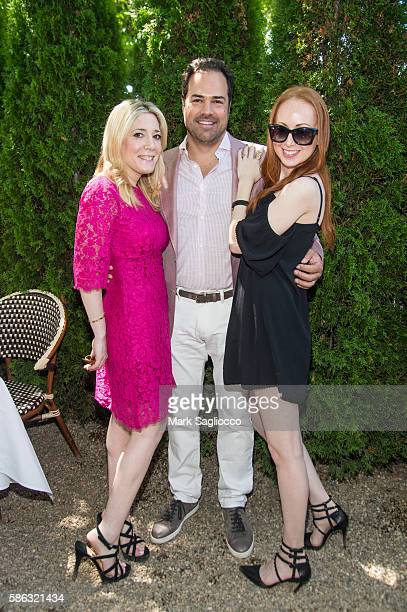 Melissa Breirtbart Chris Del Gatto and Mara Opperman attend the DELGATTO Luncheon to Celebrate Partnership with the Dubin Breast Center of the Tisch...