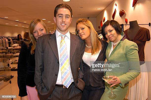 Melissa Buden Chris McGlinn Dawn McIlraith and Jennifer McClellan attend MADISON AVENUE WHERE FASHION MEETS ART at Madison Avenue on April 27 2006 in...