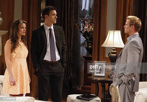 CHILDREN Melissa Claire Egan Adam Mayfield and Jacob Young in a scene that airs the week of June 14 2010 on Walt Disney Television via Getty Images...