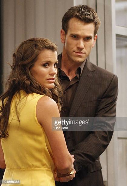 CHILDREN Melissa Claire Egan and Adam Mayfield in a scene that airs the week of June 14 2010 on Walt Disney Television via Getty Images Daytime's All...