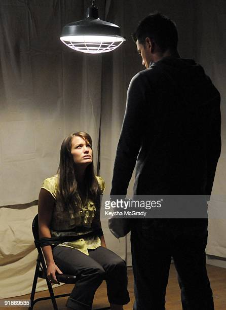 CHILDREN Melissa Claire Egan and Aiden Turner in a scene that airs the week of October 5 2009 on Walt Disney Television via Getty Images Daytime's...