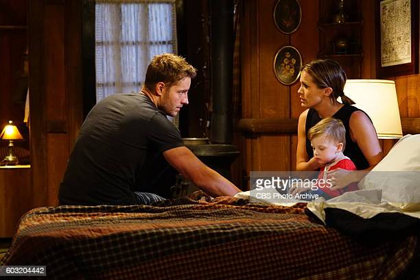 Melissa Claire Egan and Justin Hartley on the CBS series THE YOUNG AND THE RESTLESS scheduled to air on the CBS Television Network