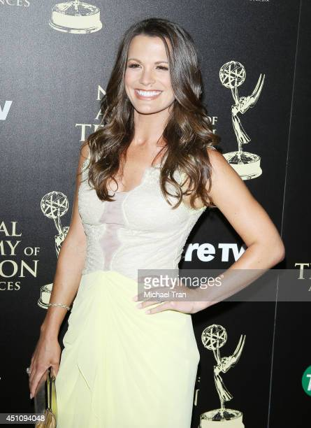 Melissa Claire Egan arrives at the 41st Annual Daytime Emmy Awards held at The Beverly Hilton Hotel on June 22 2014 in Beverly Hills California
