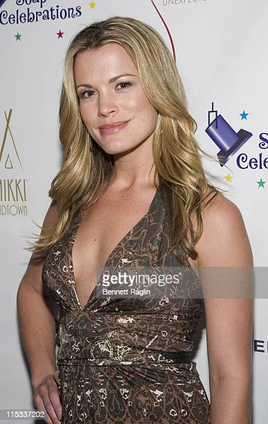 Melissa Claire Egan during The 18th Annual Daytime Emmys PreParty Hosted by Marcia Tovsky at Nikki Midtown in New York City New York United States