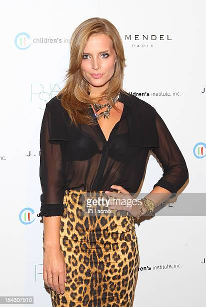 Melissa Coker attends the 3rd Annual Autumn Party at The London West Hollywood on October 17 2012 in West Hollywood California