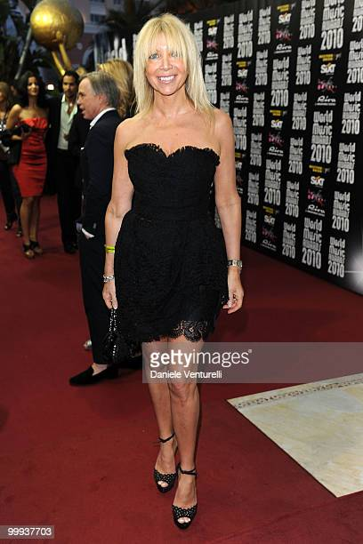 Melissa Corken attends the World Music Awards 2010 at the Sporting Club on May 18 2010 in Monte Carlo Monaco
